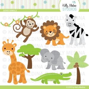 Safari Animal Clip Art