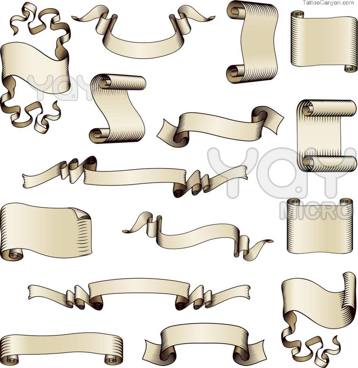 13 Scroll Banner Vector Free Images