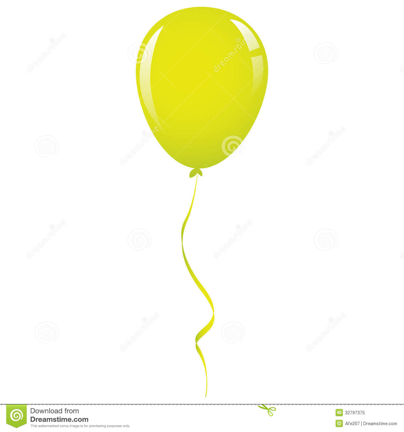 10 Green Balloon Vector Images