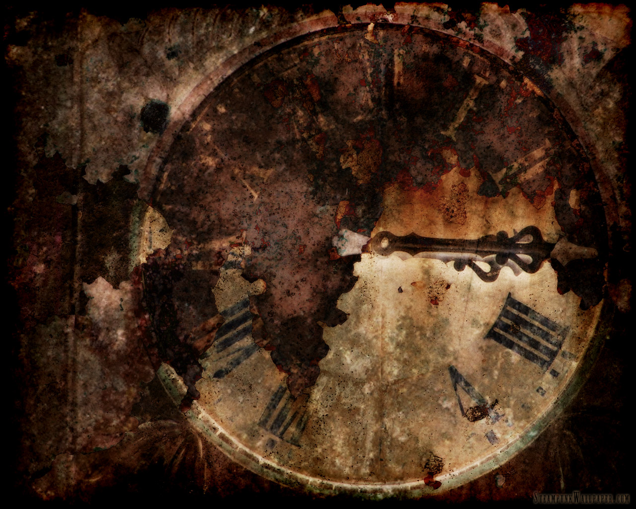 Steampunk Grunge Backgrounds Free