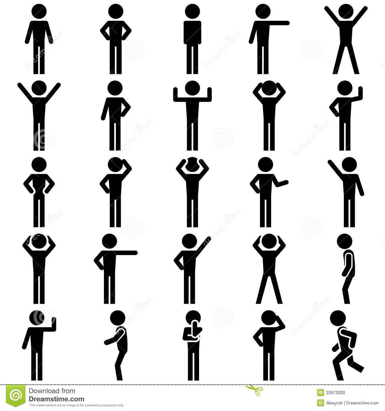 Stick Figure Vector