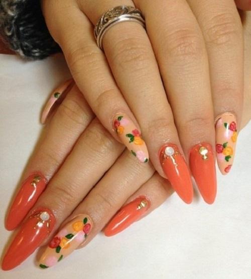 Summer Acrylic Nail Designs Ideas