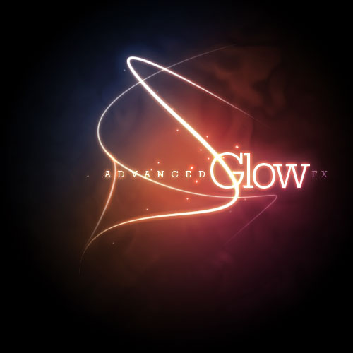 11 Glow Effect PSD Images