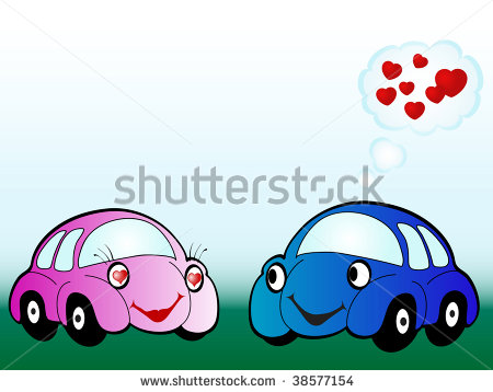 Vector Cars in Cartoon