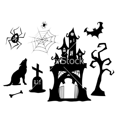 Vector Halloween Silhouettes