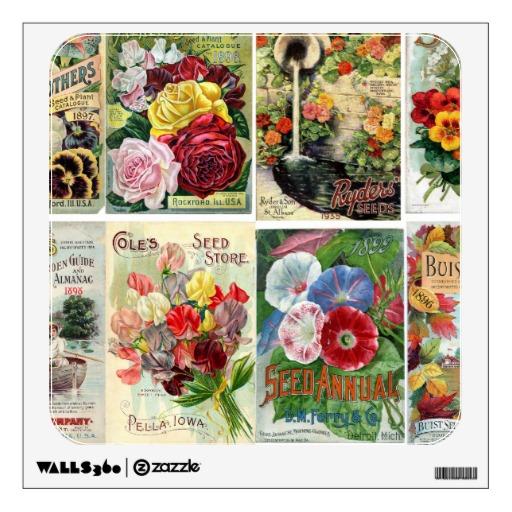 Vintage Flower Seed Catalog