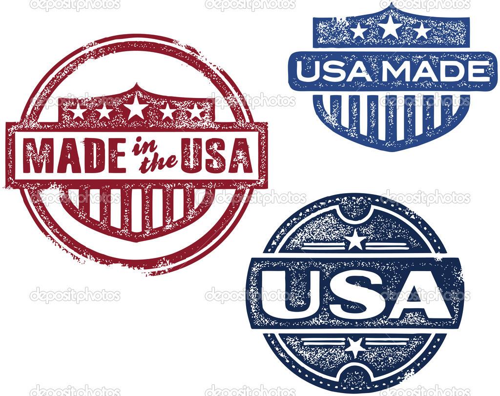 Vintage Made in USA Logos