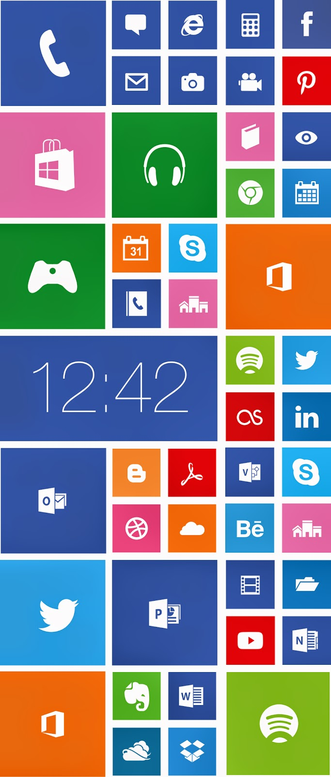 Windows Phone 8 Icons