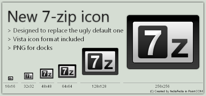 Zip File Icon Windows 7