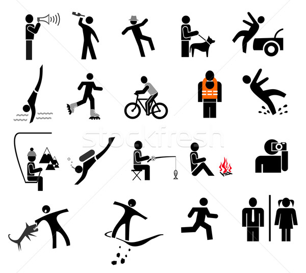 Action People Icons