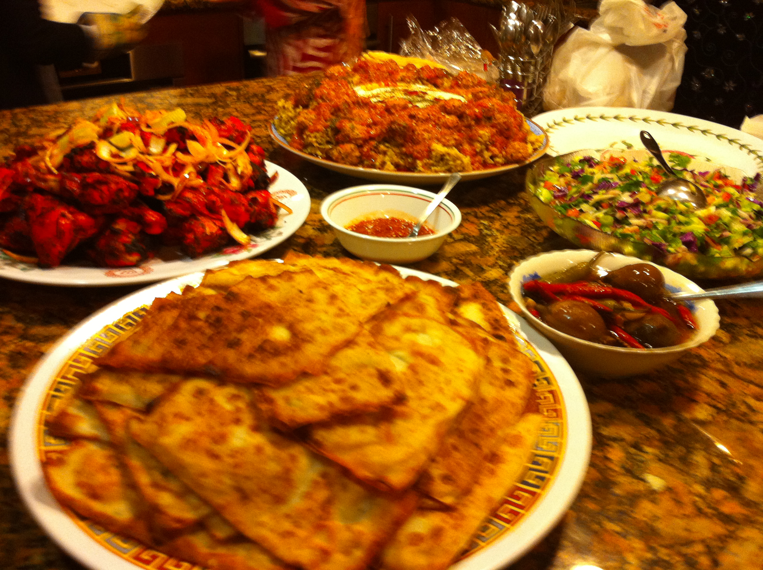 Afghanistan Wedding Food