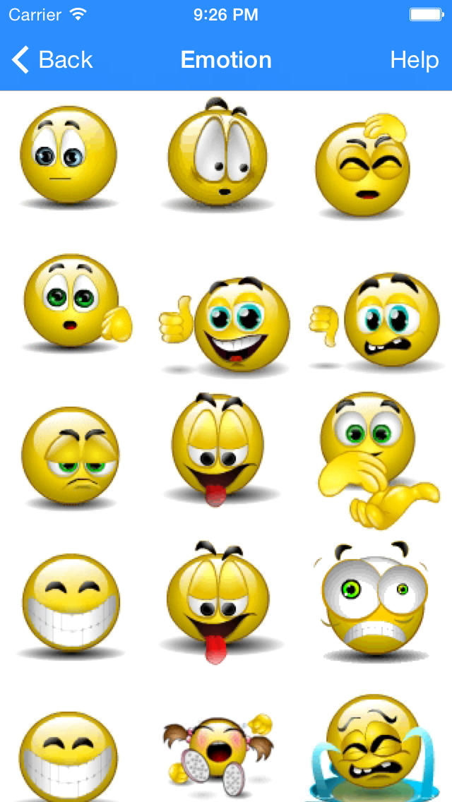 11 3D Animated Emoticons Images