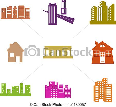Architectural Shapes Clip Art
