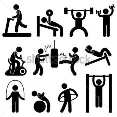 Athletic Training Clip Art
