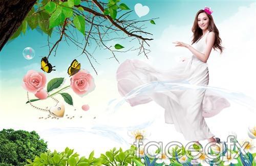 Beautiful Girls PSD