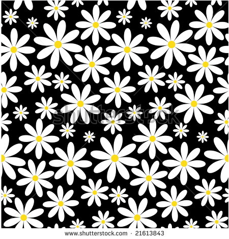 13 Daisy Vector Pattern Images