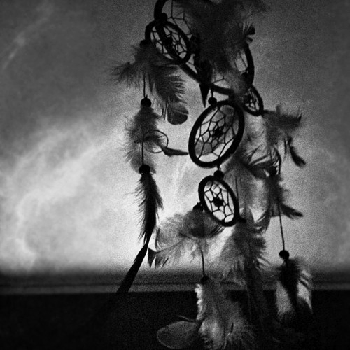 Black and White Dream Catcher Tumblr
