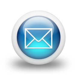 7 Blue Mail Icon Images