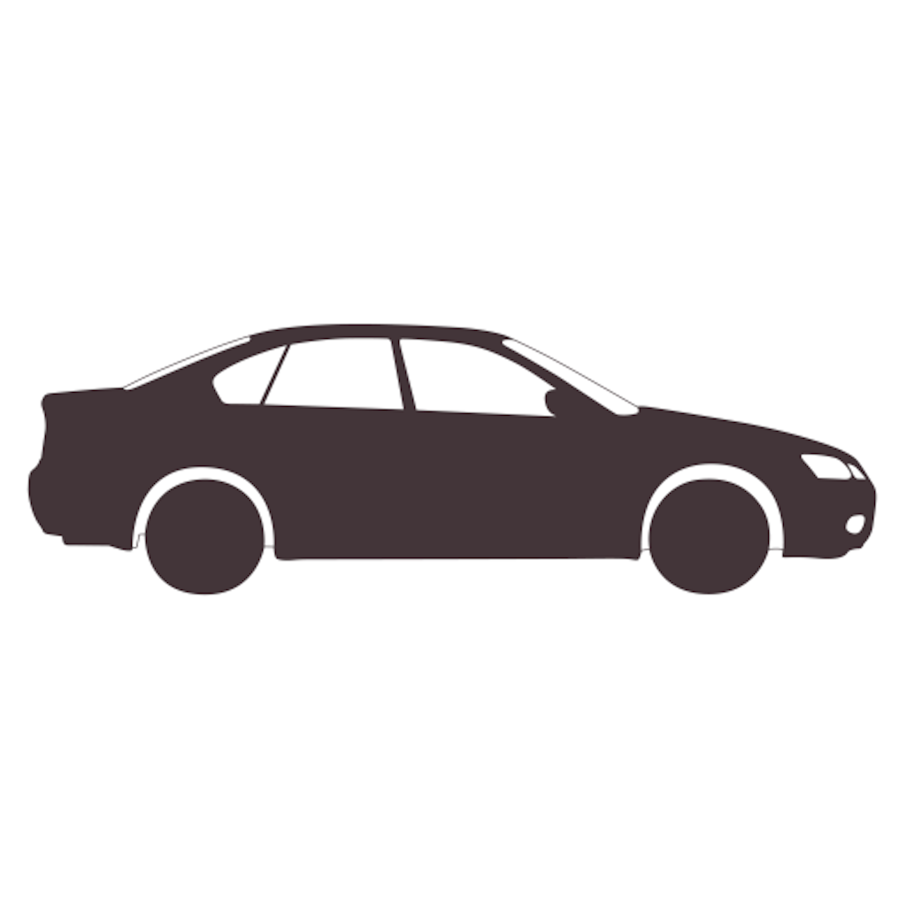 Car Icon with Transparent Background