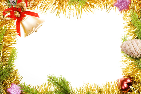 10 PSD Christmas Borders Images