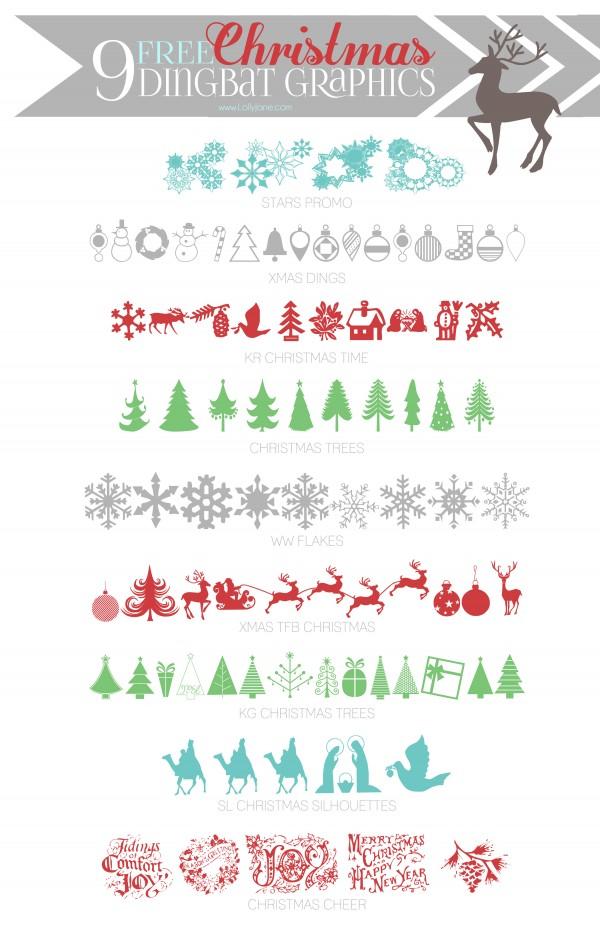 Christmas Dingbats Free