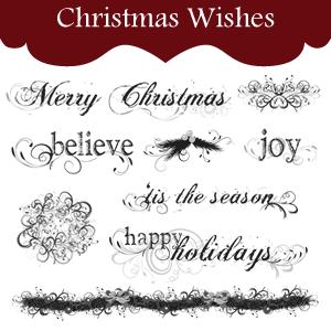 Christmas Font Printables