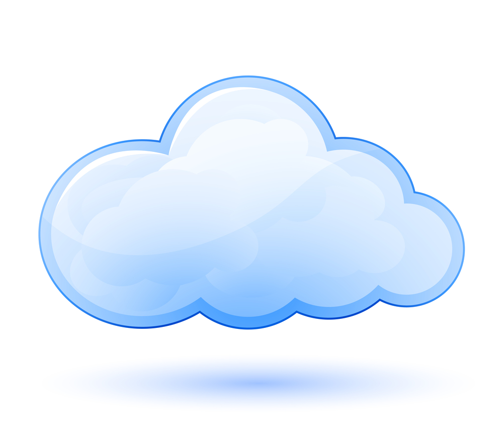 15 Cloud Vector Graphic Images