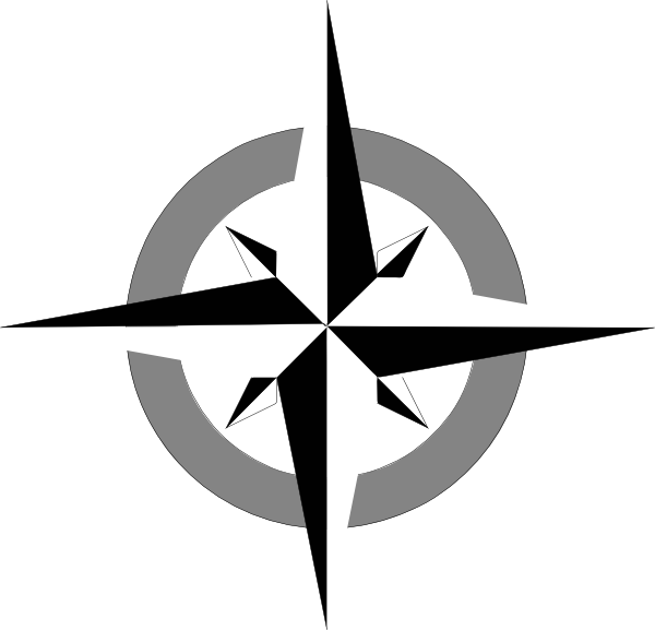 8 Simple Compass Icon Images
