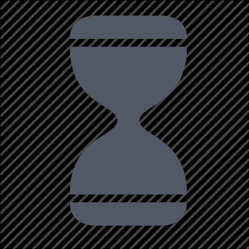 Computer Hourglass Icon