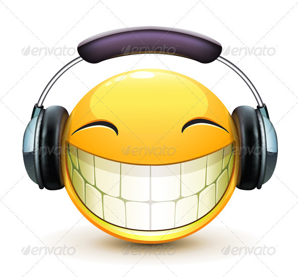 13 Headphones Emoticon Symbol Images