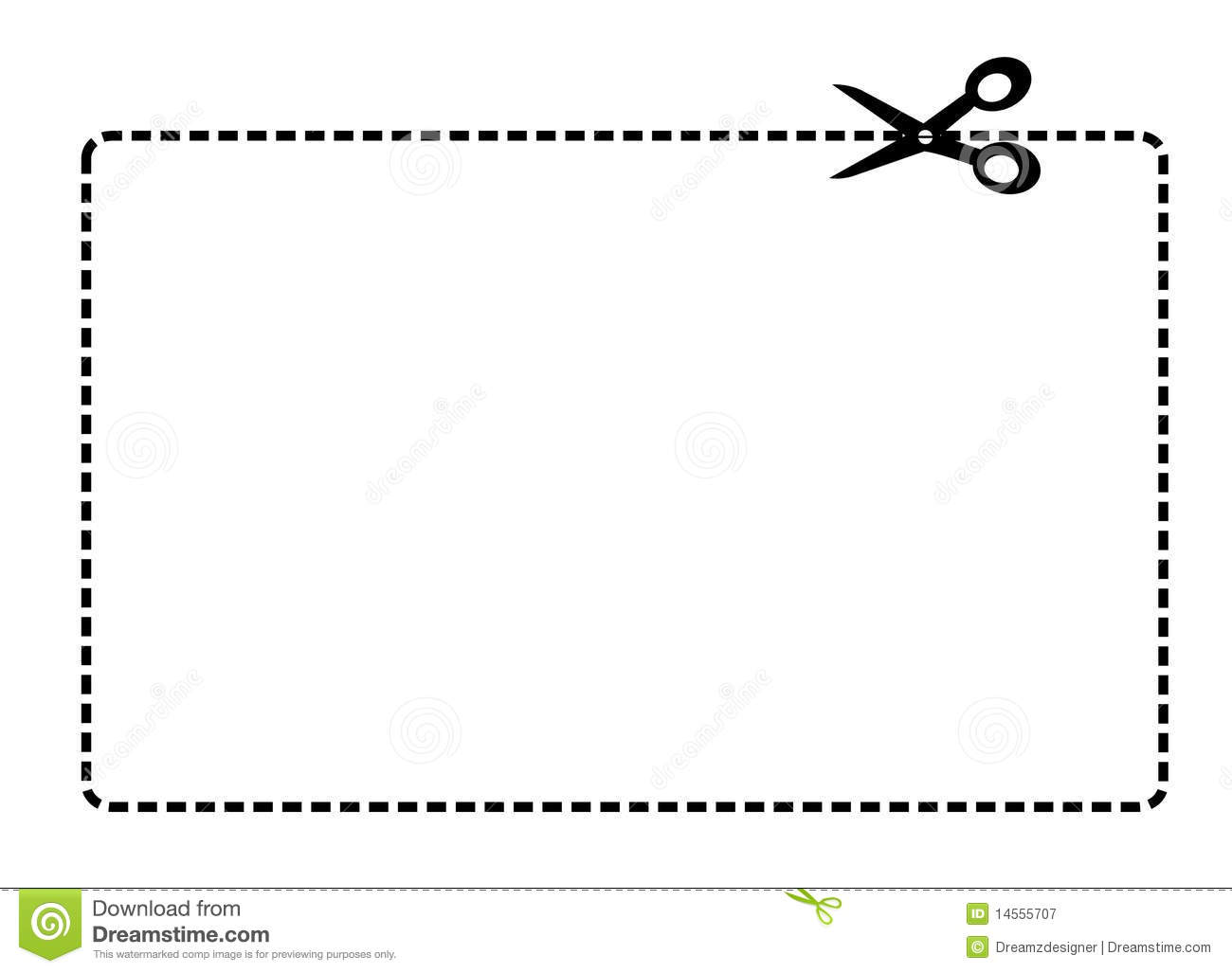 clip art dotted line with scissors - photo #39