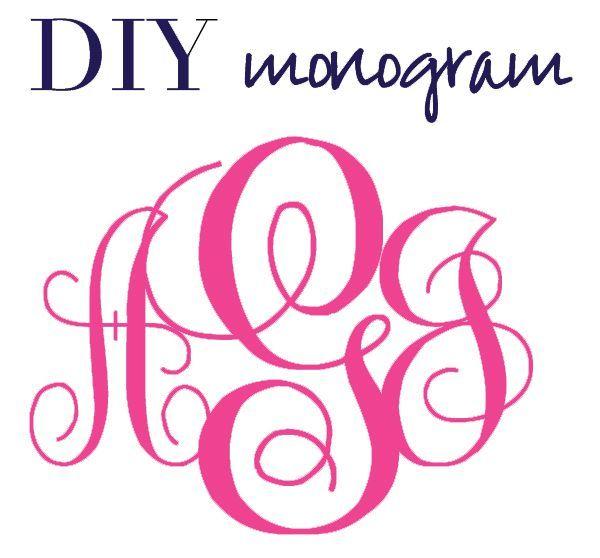 Create a Monogram Font Free