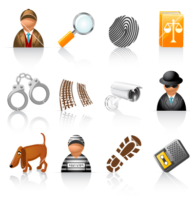 Detective Agency Icons