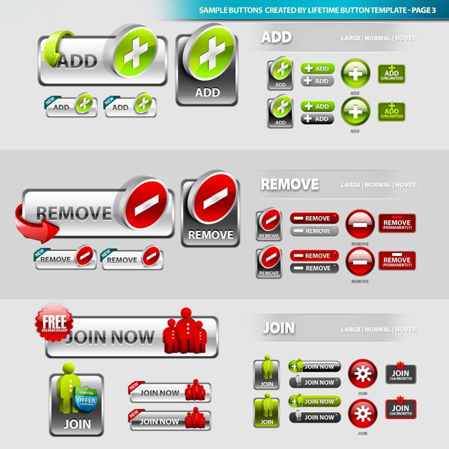 Download Button Icon PSD