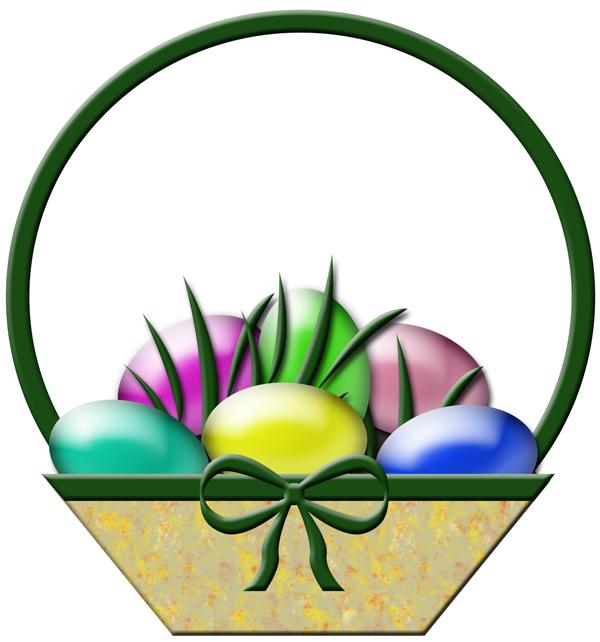 Easter Basket Clip Art Free