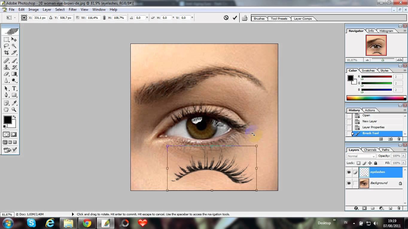 15 Eyelash Psd Photoshop Images Photoshop Eye Lashes Eye Lashes