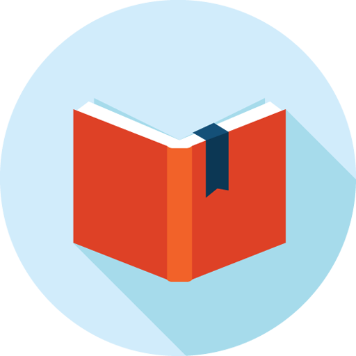 8 Flat Book Icon Images