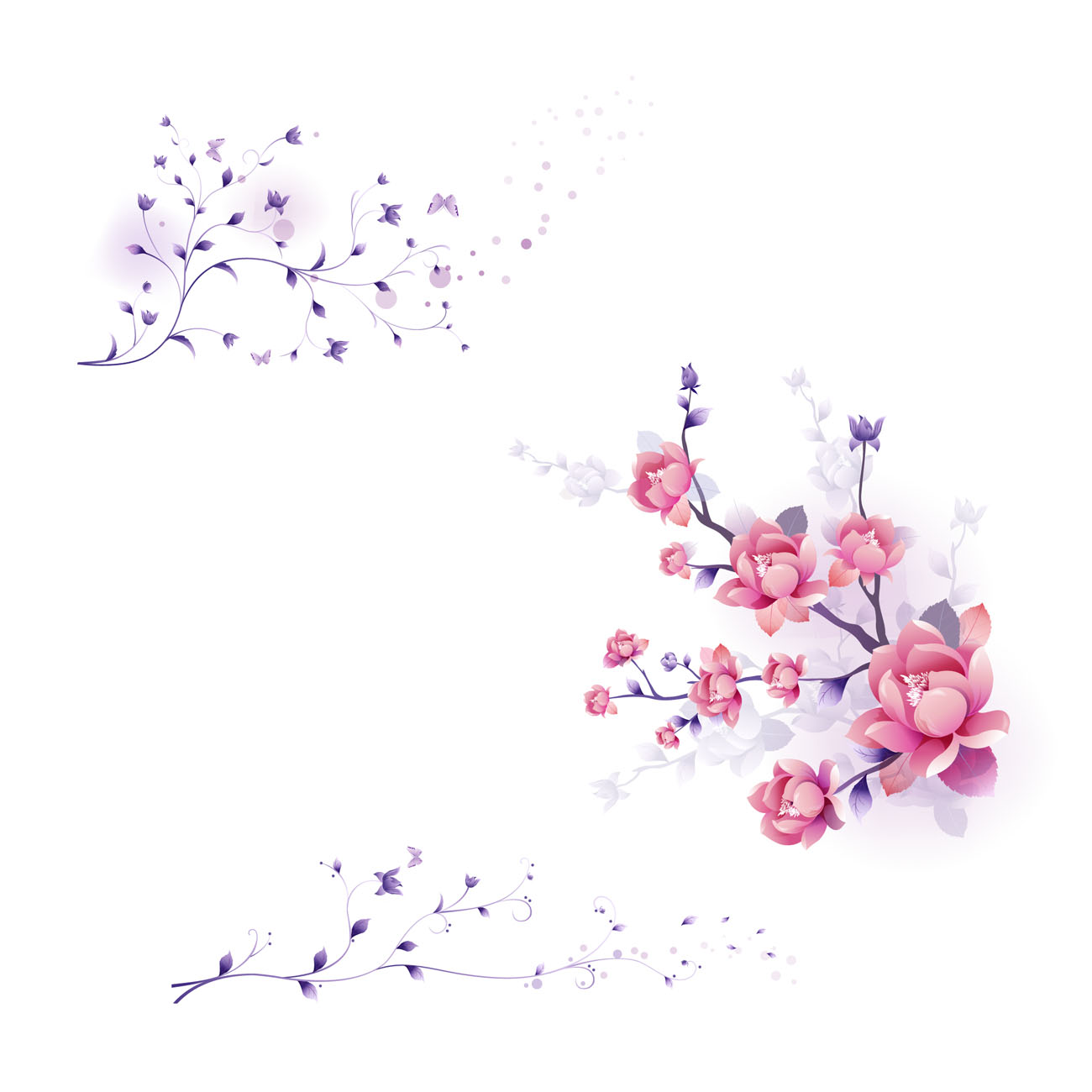 Flower Vector Graphics