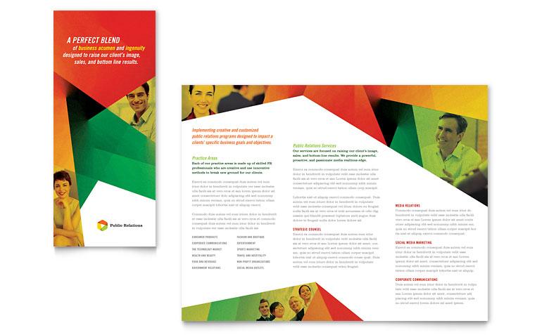 Fold Brochure Template