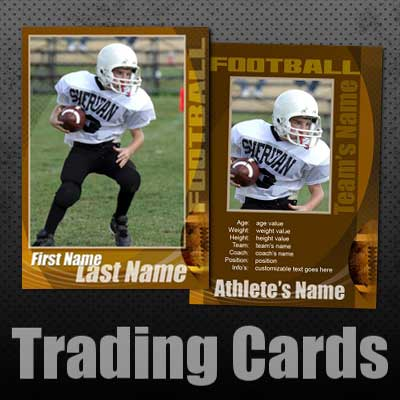 Football Trading Card Templates Free