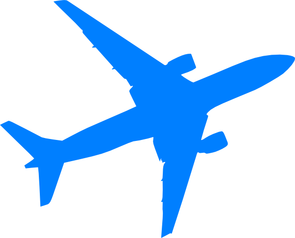 16 Vector Airplane Clip Art Images