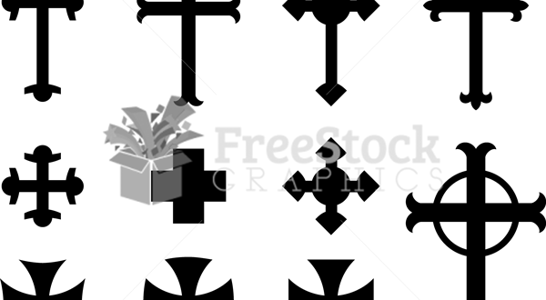 Free Christian Cross Vector