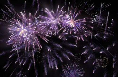 Free Fireworks Animation for PowerPoint
