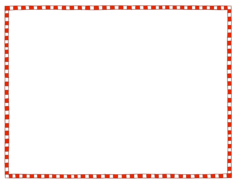 Free Microsoft Word Christmas Border Templates