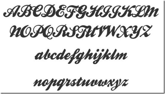 Free Retro Script Fonts