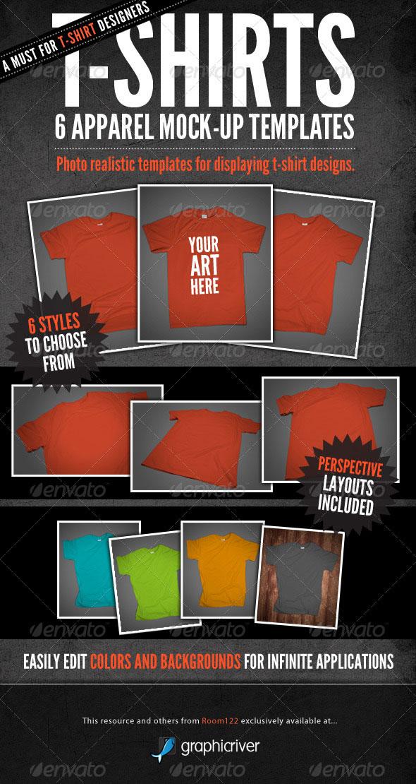 Free T-Shirt Mockup Template