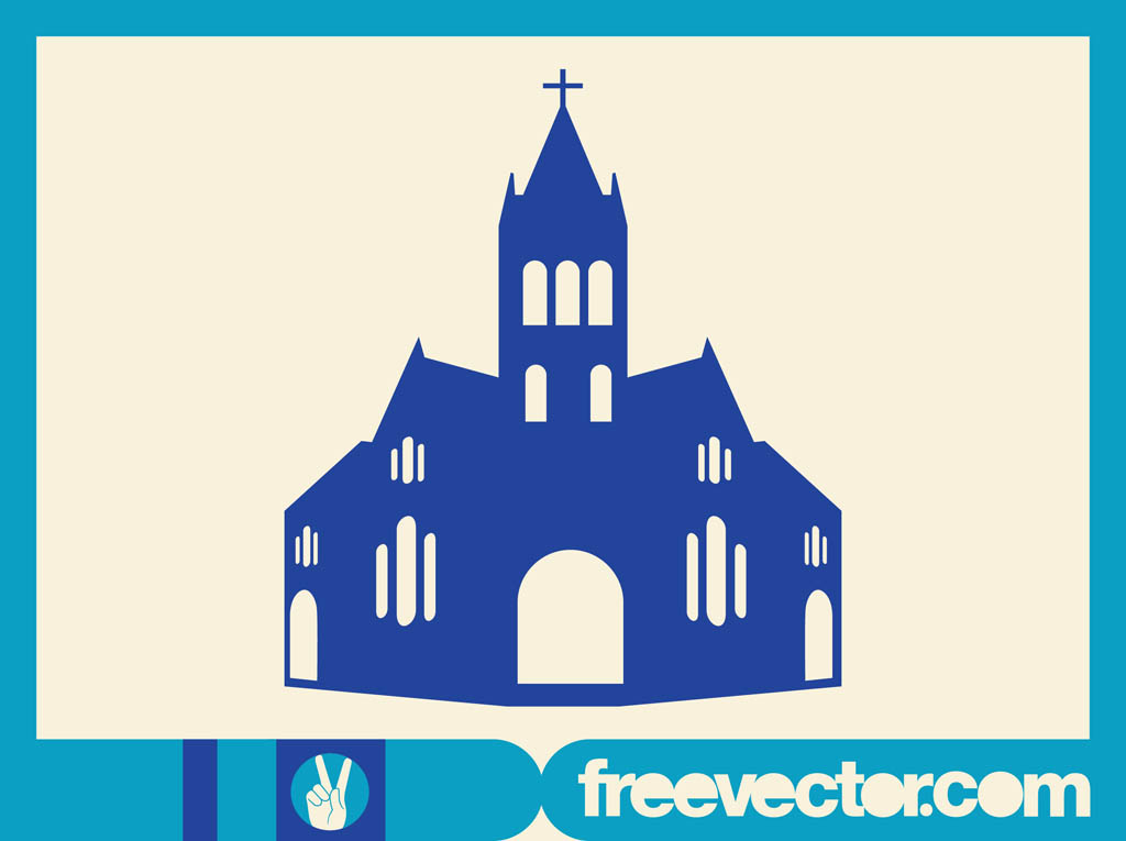 Free Vector Clip Art Christian Church