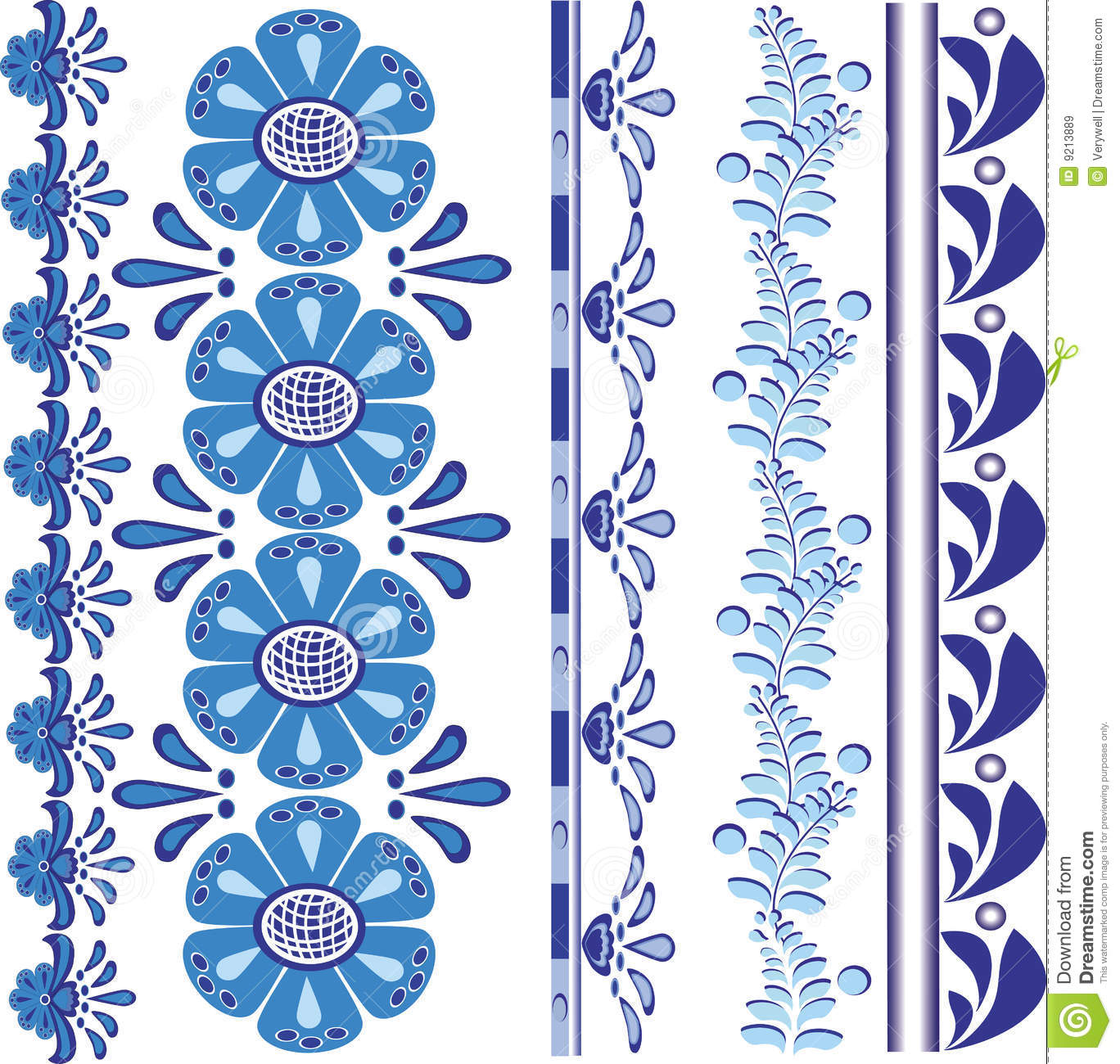 14 Vector Floral Border Designs Images - Free Vector ...
