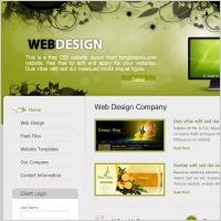 18 Graphic Design Web Templates Free Images