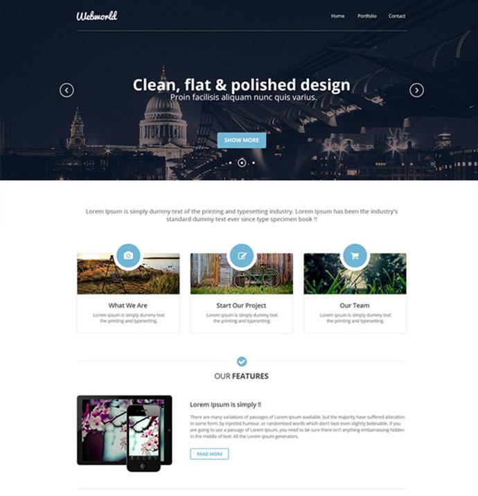 Charmant Beispiele Für Website Design Vorlagen Bilder - Entry Level ...
